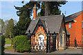 SK5418 : Loughborough Crematorium by Wayland Smith