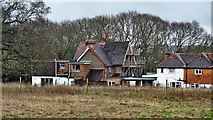 TQ2115 : Rear view of houses on Henfield Common by Ian Cunliffe