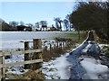 NS6638 : Burnside road-end by Alan O'Dowd