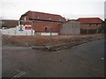 SO8932 : Redevelopment site, St Mary's Lane by Philip Halling