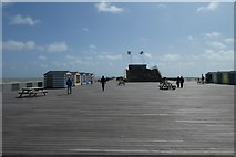TQ8109 : Along Hastings Pier by DS Pugh