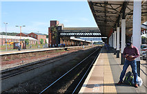 SO8555 : Worcester Shrub Hill Station by Chris Allen