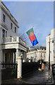 TQ2879 : The Portuguese Embassy, Belgrave Square by Des Blenkinsopp