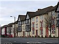 NZ2364 : Houses on Barrack Road by Steve Daniels