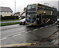 ST3091 : X3 double-decker, Malpas Road, Newport by Jaggery