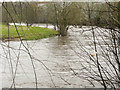 SE1323 : Bend on the River Calder, Brighouse by Humphrey Bolton