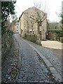 """NY7164 : """"One of the three remaining cobbled streets in the town"""" by Christine Johnstone"""