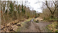 NZ1631 : Repair work following flooding at Low Barns by Trevor Littlewood