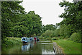 SK1213 : Canal near Fradley Junction in Staffordshire by Roger  Kidd