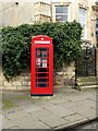 TF0207 : K6 telephone kiosk outside 2 Broad Street, Stamford by Alan Murray-Rust