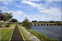 R6666 : The R Shannon at O'Briensbridge by Colin Park