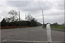 TQ5985 : Ockendon Road at the junction of Clay Tye Road by David Howard
