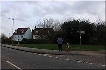 TQ6079 : Drake Road, Chafford Hundred by David Howard