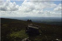 R6417 : Seefin Mountain summit - View S along summit ridge by Colin Park