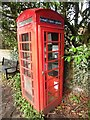 TL0100 : K6 Telephone Box in Flaunden (2) by David Hillas