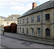 SP0202 : Houses at the northern end of Park Lane, Cirencester by Jaggery