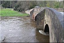 SK3057 : Cromford Bridge over the River Derwent by Andrew Abbott