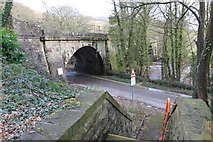 SK3057 : Cromford viaduct by Andrew Abbott