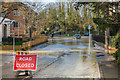 TQ1656 : Guildford Road - flooding by Ian Capper