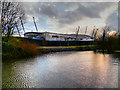 SJ8698 : Ashton Canal, Etihad Campus by David Dixon