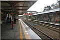 ST9897 : Looking south at Kemble Station by Chris Allen