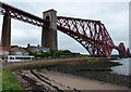 NT1380 : Beach at North Queensferry by Mat Fascione