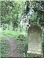 TF4510 : The ancient mariner in Wisbech General Cemetery by Richard Humphrey