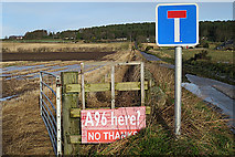 NJ1461 : No A96 Here by Anne Burgess