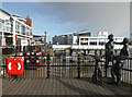 ST1974 : Cardiff Bay waterfront by Chris Allen
