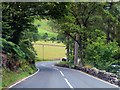 NY3818 : The A592 heading north near Glencoyne by Steve Daniels