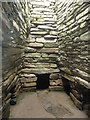 HY6737 : Quoyness Chambered Cairn - Inside the tomb by Rob Farrow