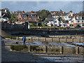 J5182 : Groynes, Ballyholme Beach by Rossographer