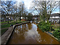 SD7400 : The Bridgewater Canal at Worsley Green by habiloid