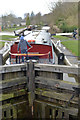SD9354 : Higherland Lock (no. 32), Leeds and Liverpool Canal, Gargrave by habiloid