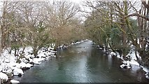 SS8983 : River Ogmore by Colin Prosser