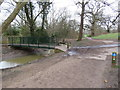 TQ3298 : Path and bridge in Hilly Fields Park, near Enfield by Malc McDonald