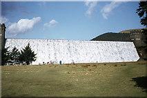 SK1789 : Water flowing over dam, Derwent Reservoir by Colin Park
