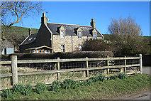 NJ1466 : Westbank Farm House by Anne Burgess