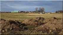 NJ1364 : Dumped Earth by Anne Burgess