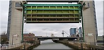 TA1028 : Barrier on River Hull poised for deployment by Chris Morgan