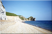 SY8080 : The beach W of Durdle Door near Lulworth Cove by Colin Park