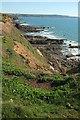 SS2005 : Coastal scenery near Lynstone by Derek Harper