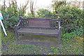 TM4897 : WW1 Memorial bench, Somerleyton by Adrian S Pye