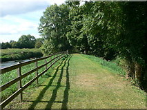 S4943 : Riverside walk near Kells Priory by Eirian Evans