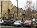 TF0307 : Schoolroom of St Augustine's Roman Catholic Church, Broad Street, Stamford by Alan Murray-Rust
