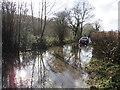 TQ5638 : Flooding on High Rocks Lane near Tunbridge Wells by Malc McDonald
