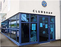 SJ4910 : The Club Shop at Montgomery Waters Meadow by Steve Daniels