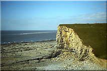 SS9168 : Cliffs at Nash Point by Colin Park