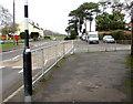ST3090 : Railings on a Malpas corner, Newport by Jaggery
