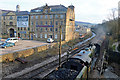 SE0336 : Yorkshire - Mill and train by Chris Allen